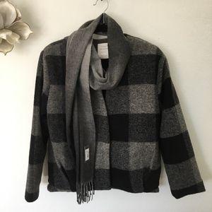 Zara Knit Wear Winter Collection  V Neck Jacket